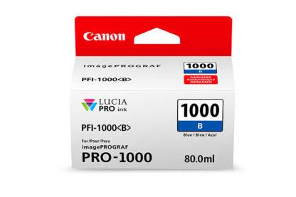 Cartucho Canon PFI 1000 B Azul 2