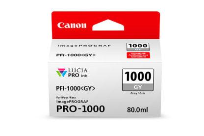 Cartucho Canon PFI 1000 GY Gris 2