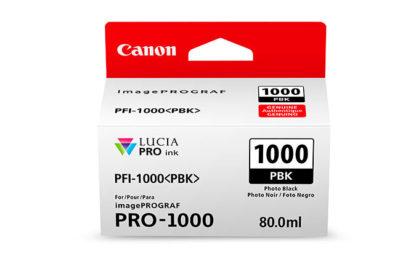 Cartucho Canon PFI 1000 MBK Foto Negro 2