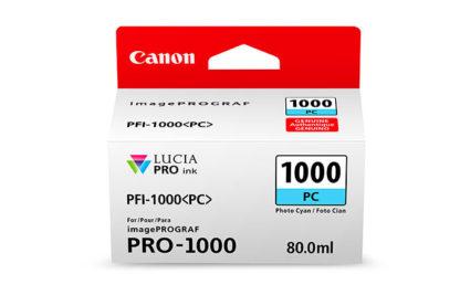 Cartucho Canon PFI-1000 PC Foto Cian