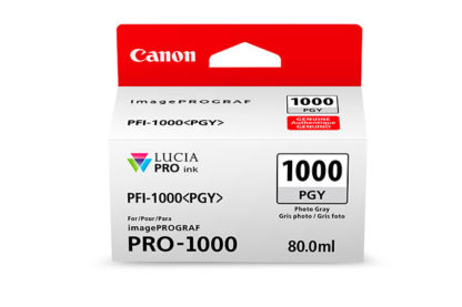 Cartucho Canon PFI 1000 PGY Foto Gris 2