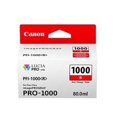 Cartucho Canon PFI 1000 R Rojo 2