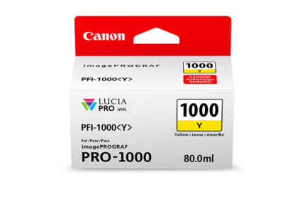 Cartucho Canon PFI 1000 Y Amarillo 2