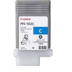 Cartucho Canon PFI-102 C Cian