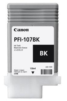 Cartucho Canon PFI 107 BK Negro 2