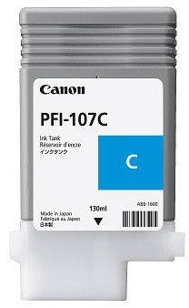 Cartucho Canon PFI 107 C Cian 2