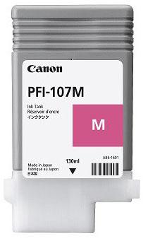 Cartucho Canon PFI 107 M Magenta 2