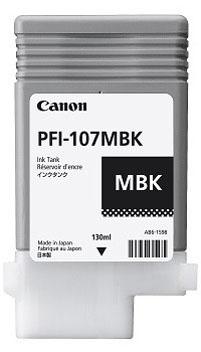 Cartucho Canon PFI 107 MBK Negro Pigmentado 2
