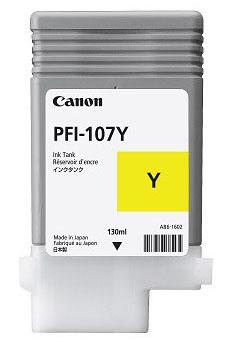 Cartucho Canon PFI 107 Y Amarillo 2