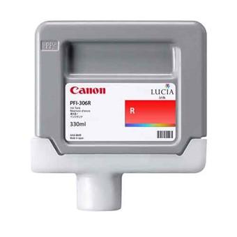 Cartucho Canon PFI 306 R Rojo