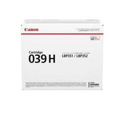 Cartucho Toner Canon 039H Negro