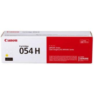 Cartucho Toner Canon 054H Amarillo
