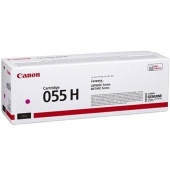 Cartucho Tóner Canon 055H Magenta