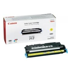 Cartucho Toner Canon 717Y Amarillo