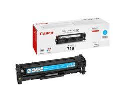 Cartucho Tóner Canon 718C Cian