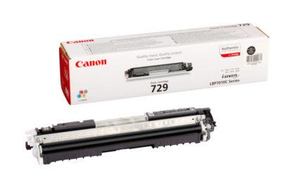 Cartucho Toner Canon 729BK Negro 2