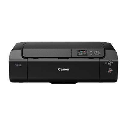 Impresora canon pro - 300 imageprograf a3+ red