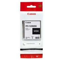 Cartucho canon pfi - 120 mbk negro mate