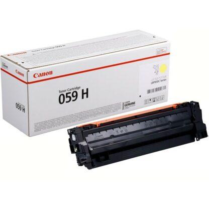 Toner canon 059h amarillo 13500 paginas